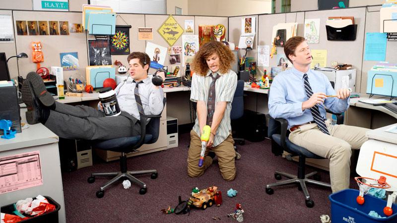 Смешные и забавные картинки про работу в офисе - подборка 2018 15