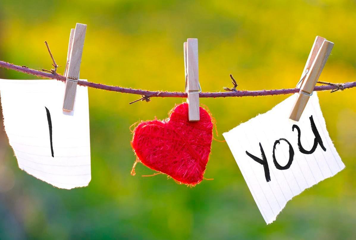Люблю тебя моя девочка - красивые и милые картинки с надписью 13