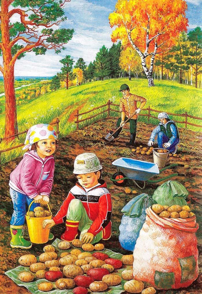 Красивые картинки времена года для детей - подборка 15 фото 17