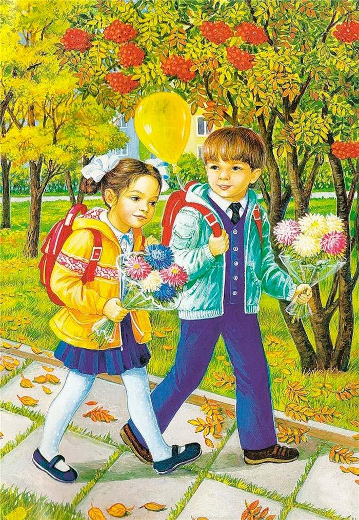 Красивые картинки времена года для детей - подборка 15 фото 1