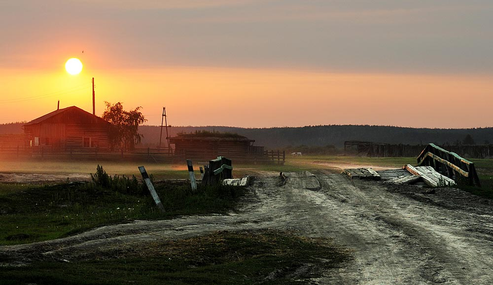 """""""Вечер в деревне"""" - удивительные и невероятные фотографии 15 штук 1"""