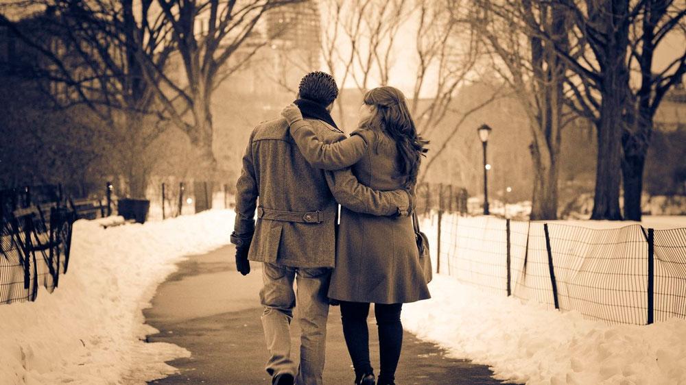 Красивые и милые картинки влюбленных пар в обнимку - подборка 2