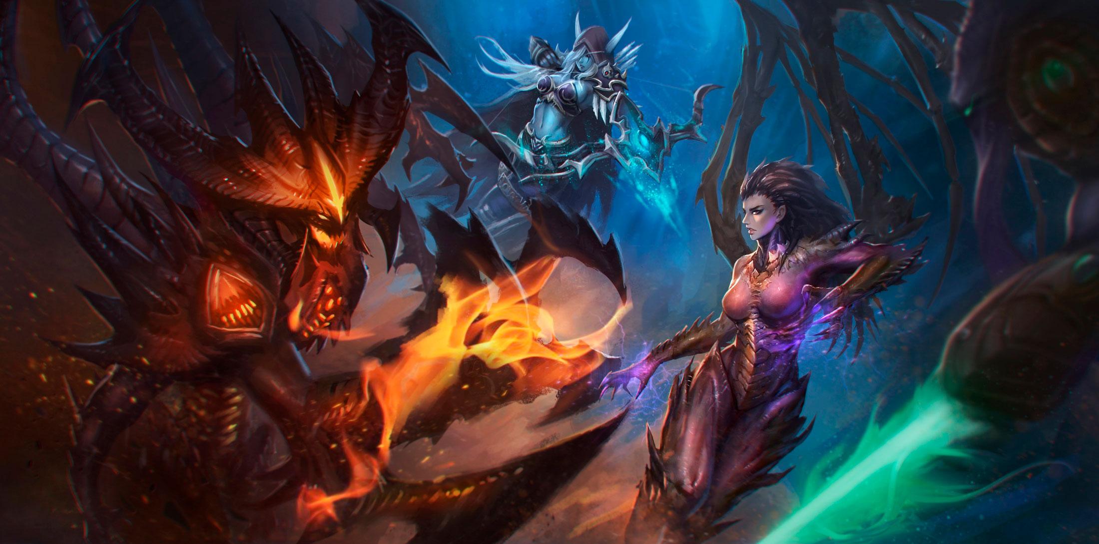 World of Warcraft красивые и крутые обои для рабочего стола 1