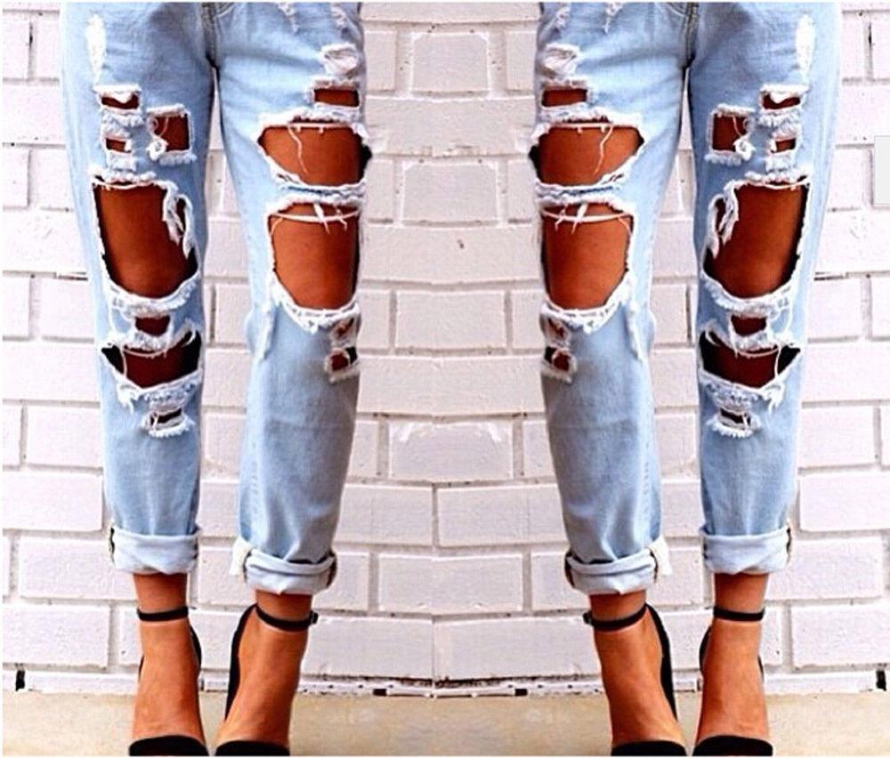 Красивые и прикольные картинки рваных джинсов - подборка 2018 1