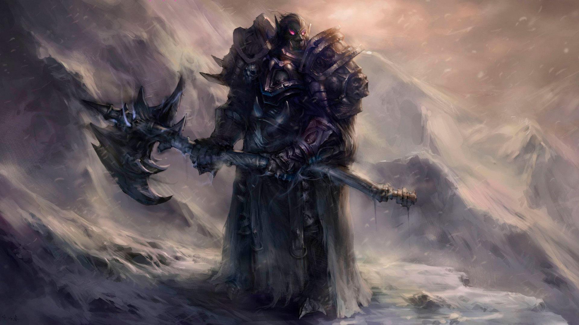 World of Warcraft красивые и крутые обои для рабочего стола 3