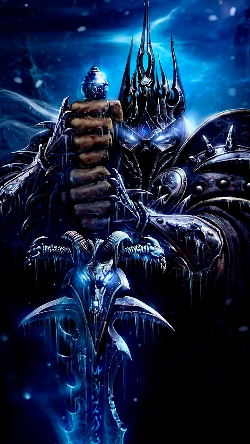 Самые крутые картинки из World of Warcraft на заставку телефона - подборка 1