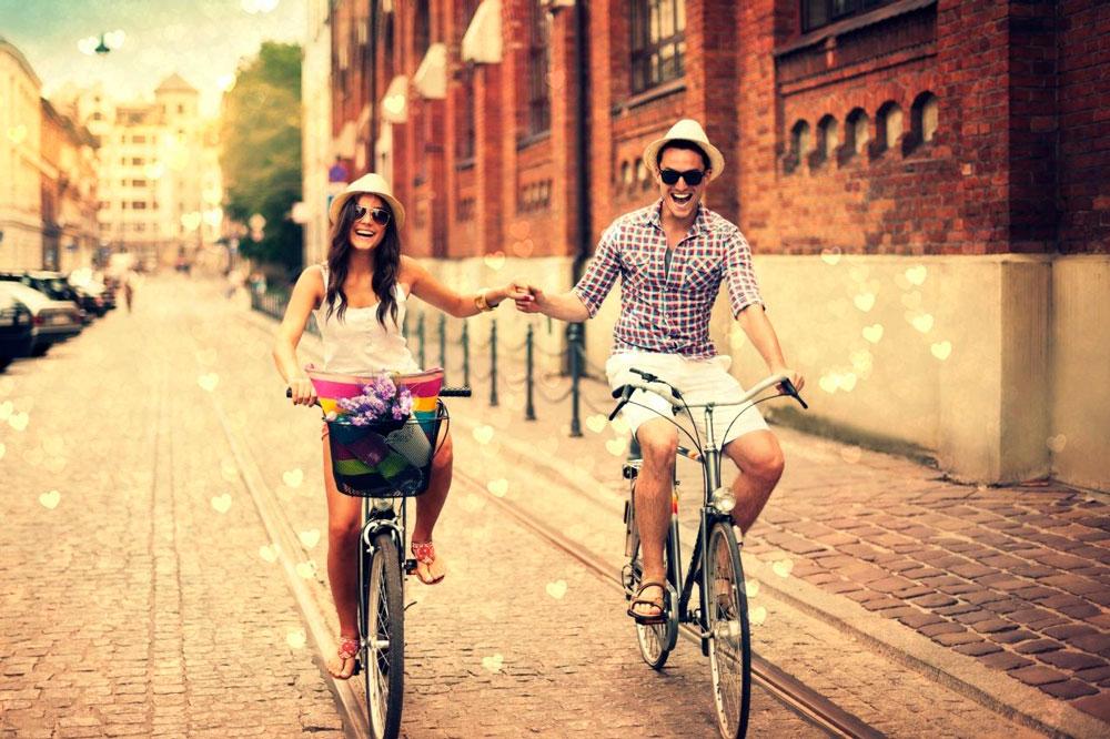Красивые и милые картинки влюбленных пар в обнимку - подборка 3