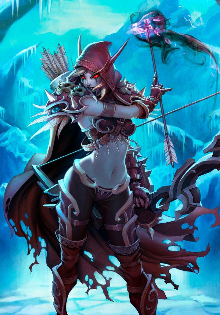 Самые крутые картинки из World of Warcraft на заставку телефона - подборка 3