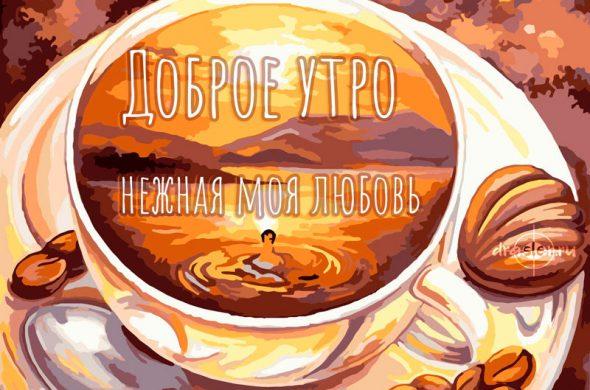 Доброе утро нежная моя - милые и приятные картинки 4
