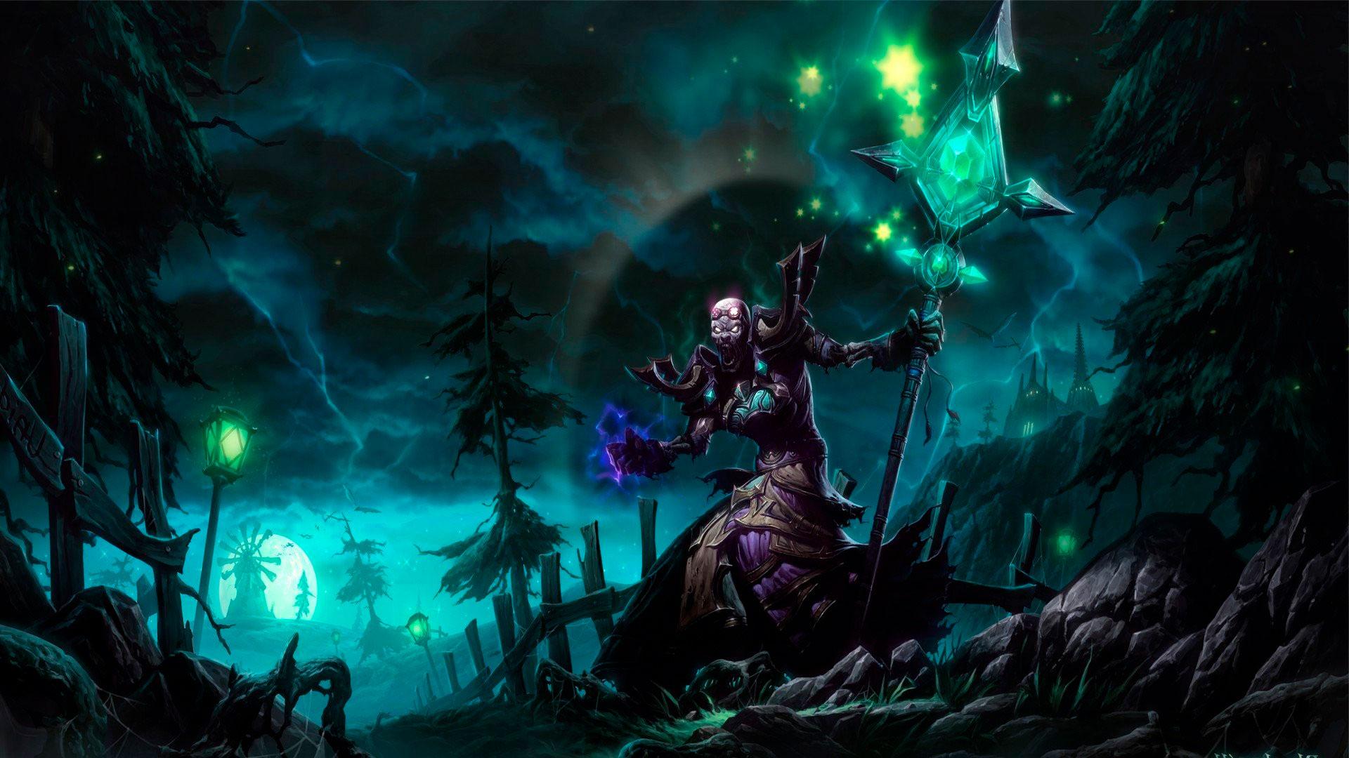 World of Warcraft красивые и крутые обои для рабочего стола 2