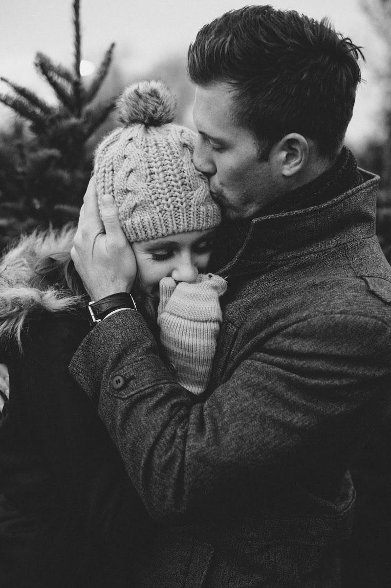 Красивые и милые картинки влюбленных пар в обнимку - подборка 1