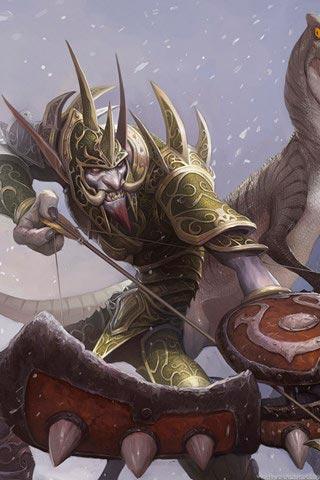 Самые крутые картинки из World of Warcraft на заставку телефона - подборка 5