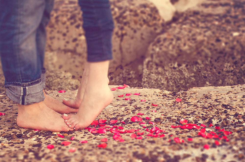 Красивые и милые картинки влюбленных пар в обнимку - подборка 7