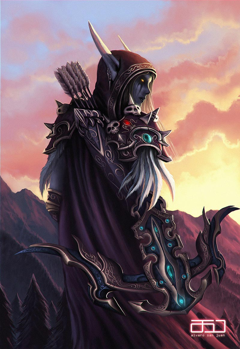 Самые крутые картинки из World of Warcraft на заставку телефона - подборка 9