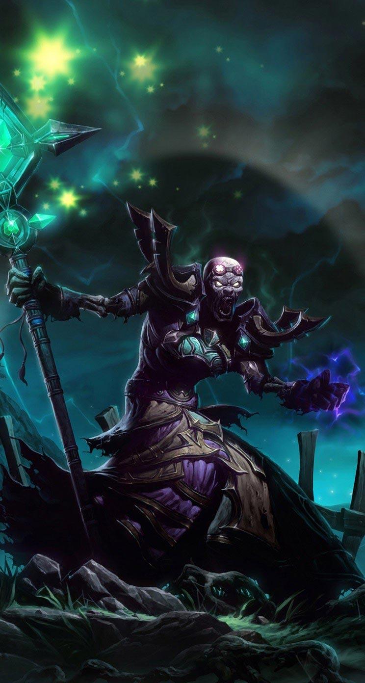Самые крутые картинки из World of Warcraft на заставку телефона - подборка 12