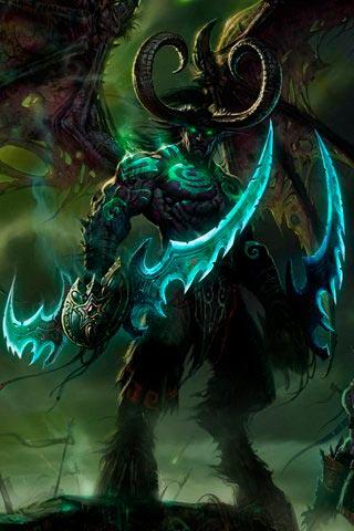 Самые крутые картинки из World of Warcraft на заставку телефона - подборка 19
