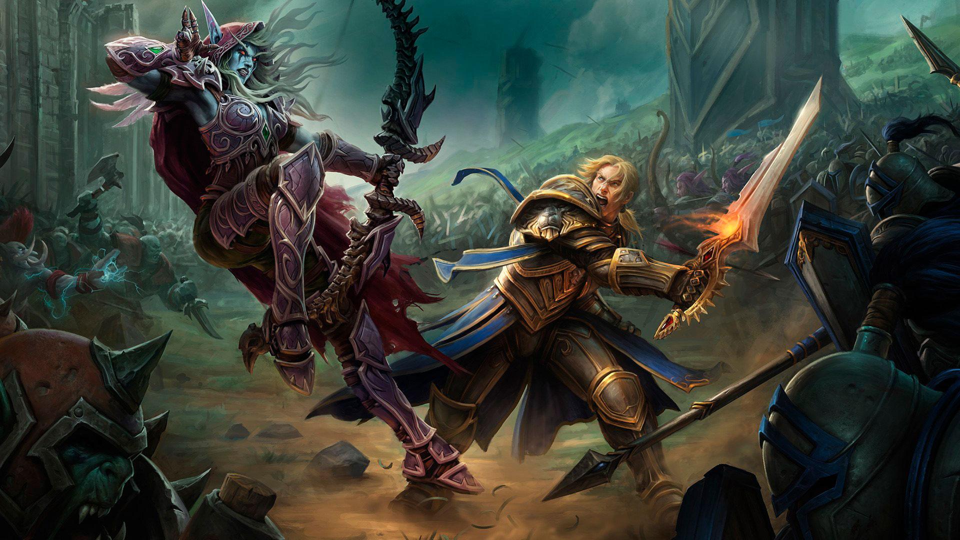 World of Warcraft красивые и крутые обои для рабочего стола 5