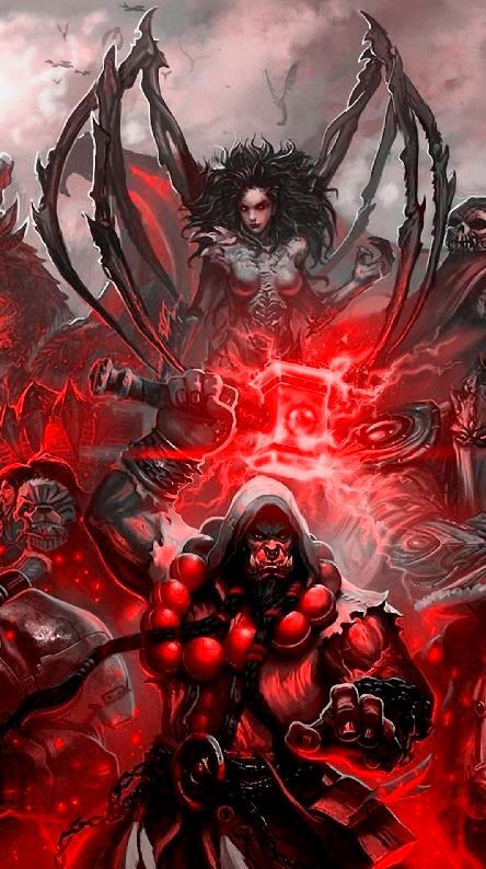 Самые крутые картинки из World of Warcraft на заставку телефона - подборка 7