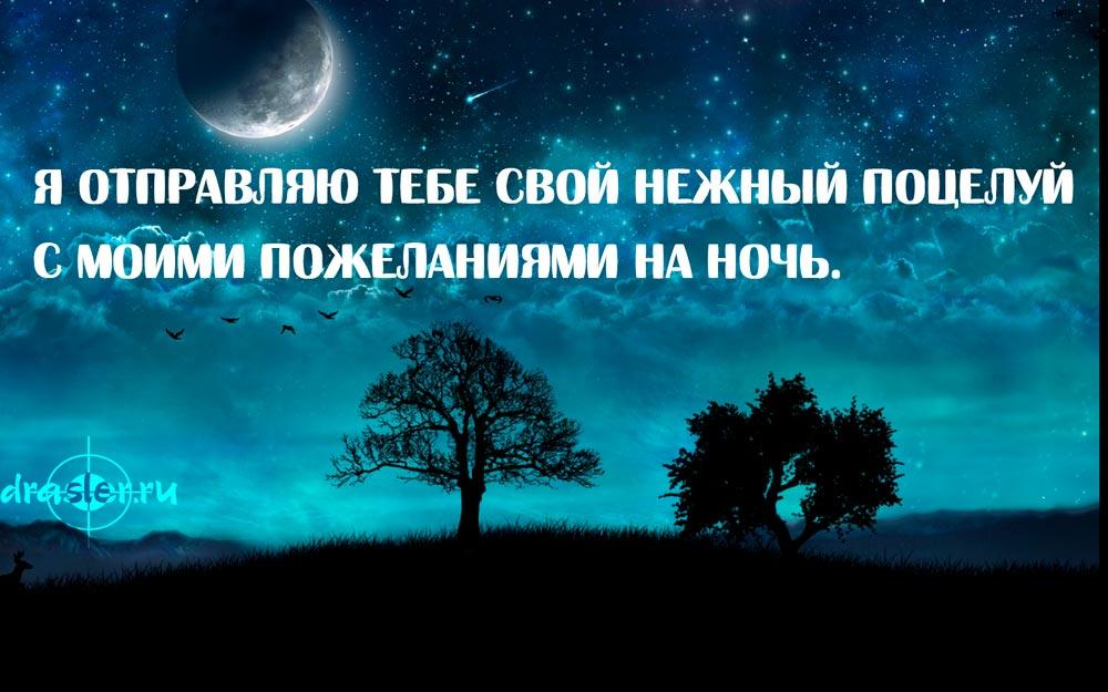Пожелания спокойной ночи в картинках любимому парню - сборка 7