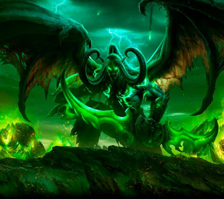 Самые крутые картинки из World of Warcraft на заставку телефона - подборка 10