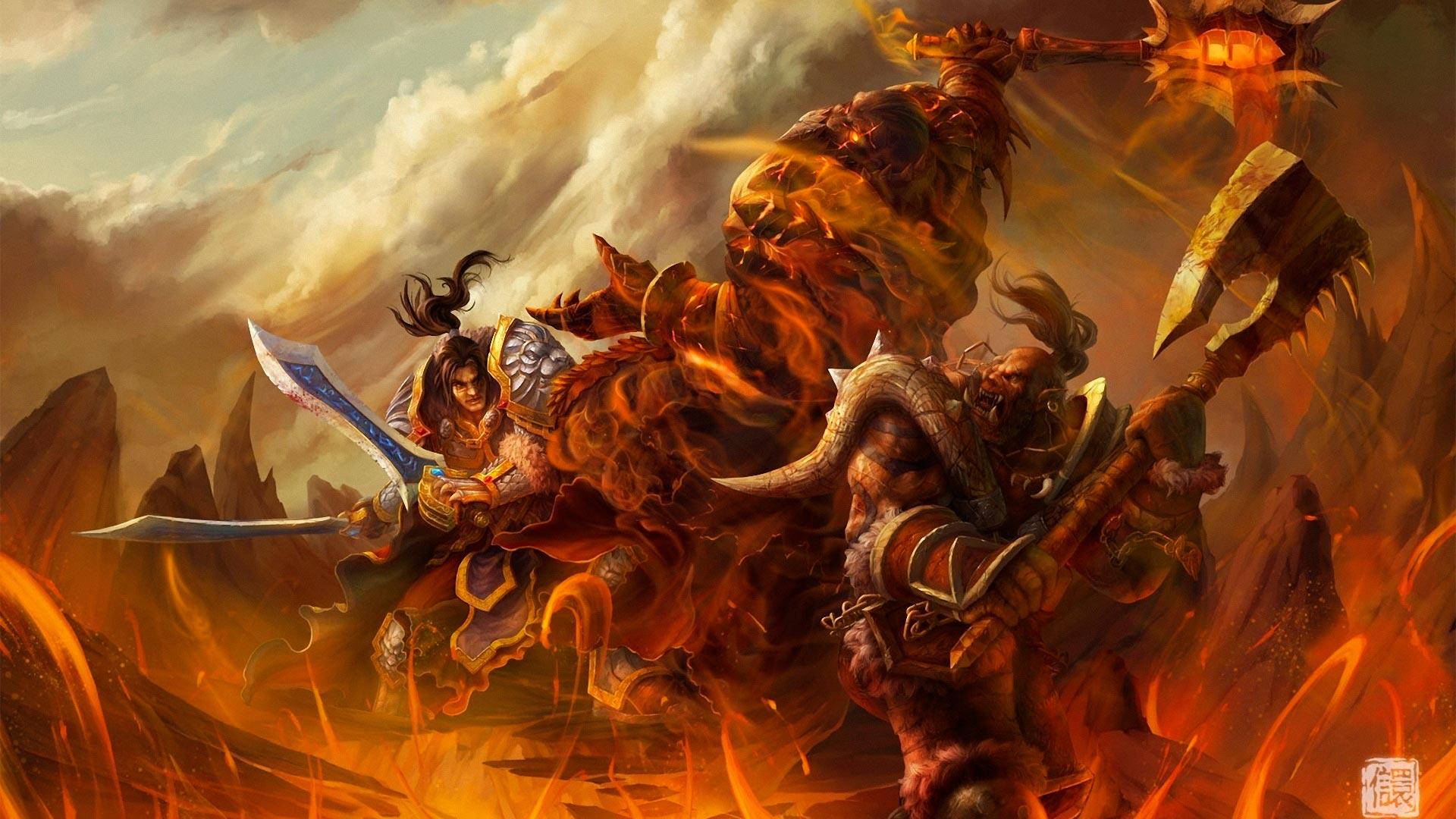 World of Warcraft красивые и крутые обои для рабочего стола 7