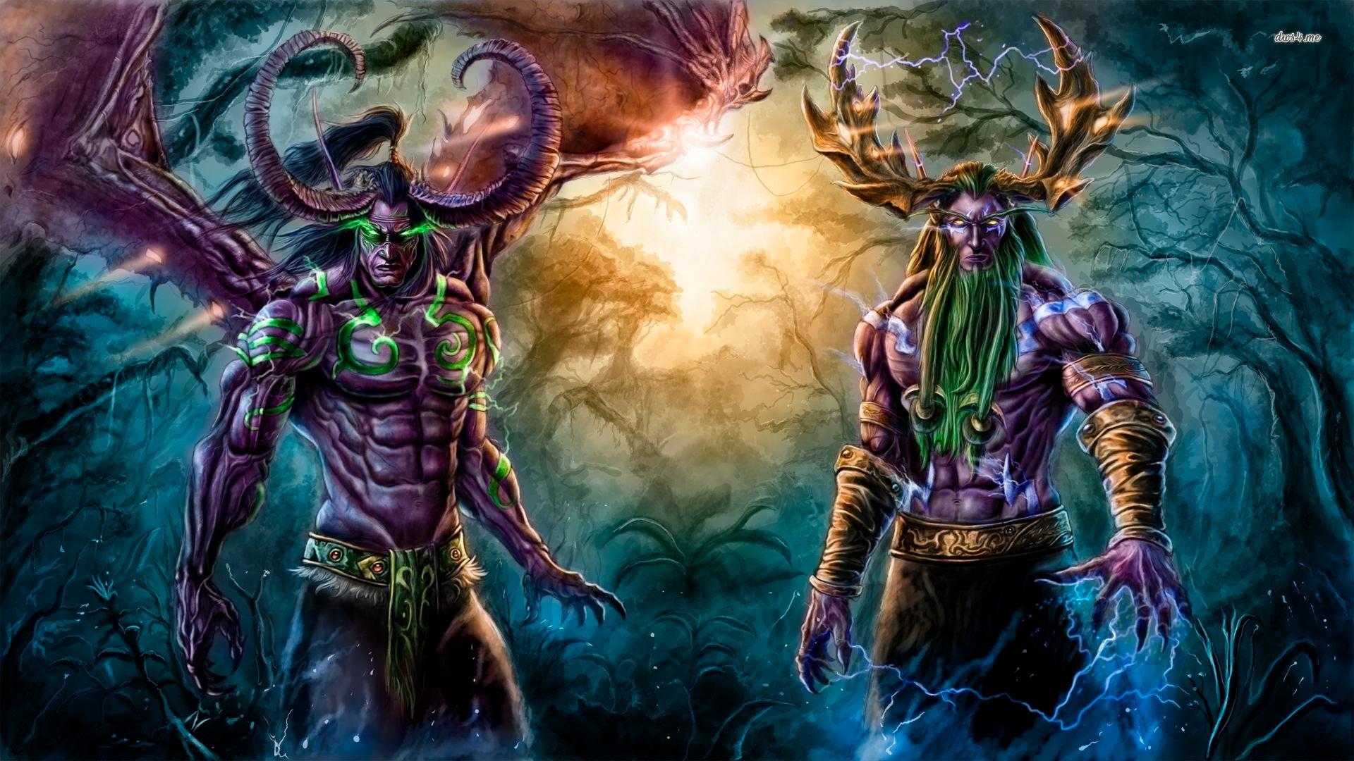 World of Warcraft красивые и крутые обои для рабочего стола 8
