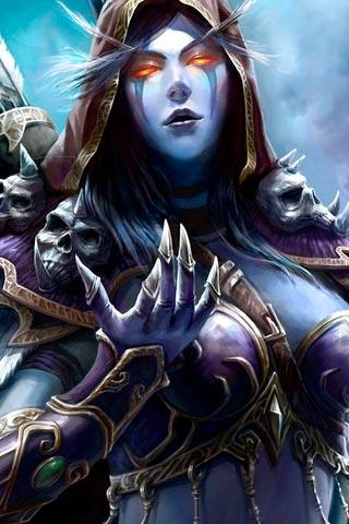 Самые крутые картинки из World of Warcraft на заставку телефона - подборка 11