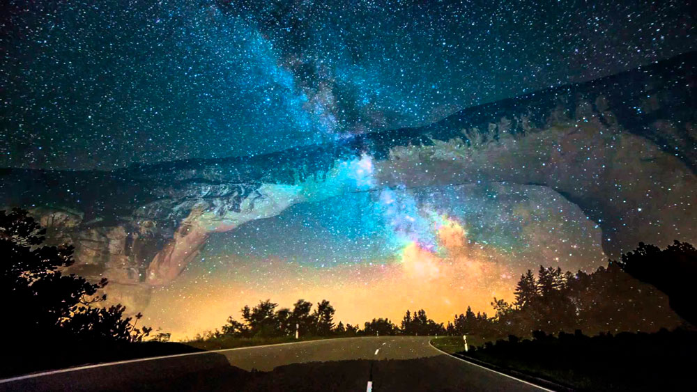 Млечный путь - удивительные и невероятные изображения 20 фото 10
