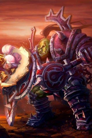 Самые крутые картинки из World of Warcraft на заставку телефона - подборка 16