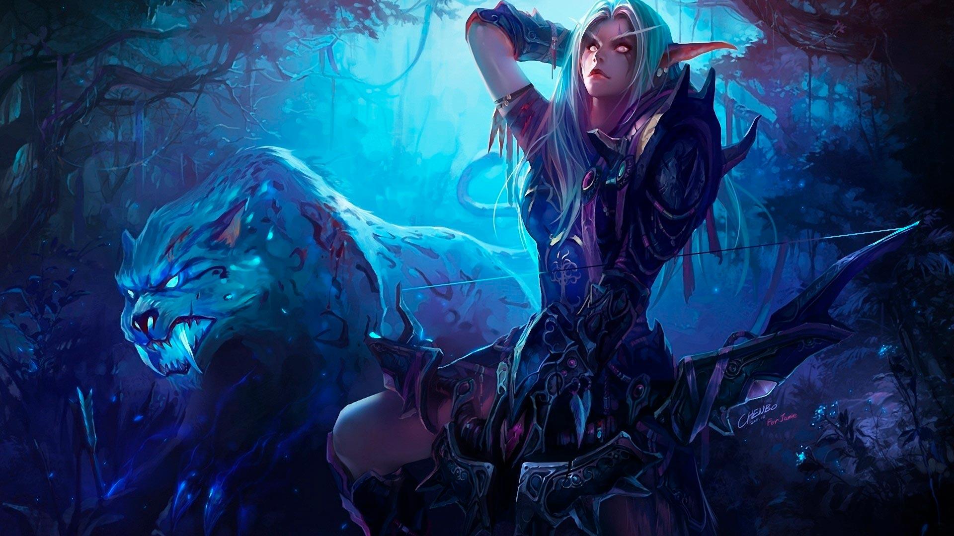 World of Warcraft красивые и крутые обои для рабочего стола 14
