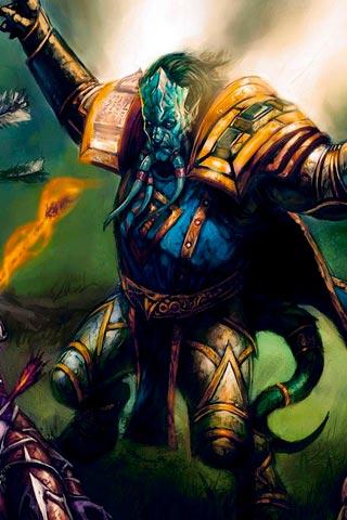 Самые крутые картинки из World of Warcraft на заставку телефона - подборка 17