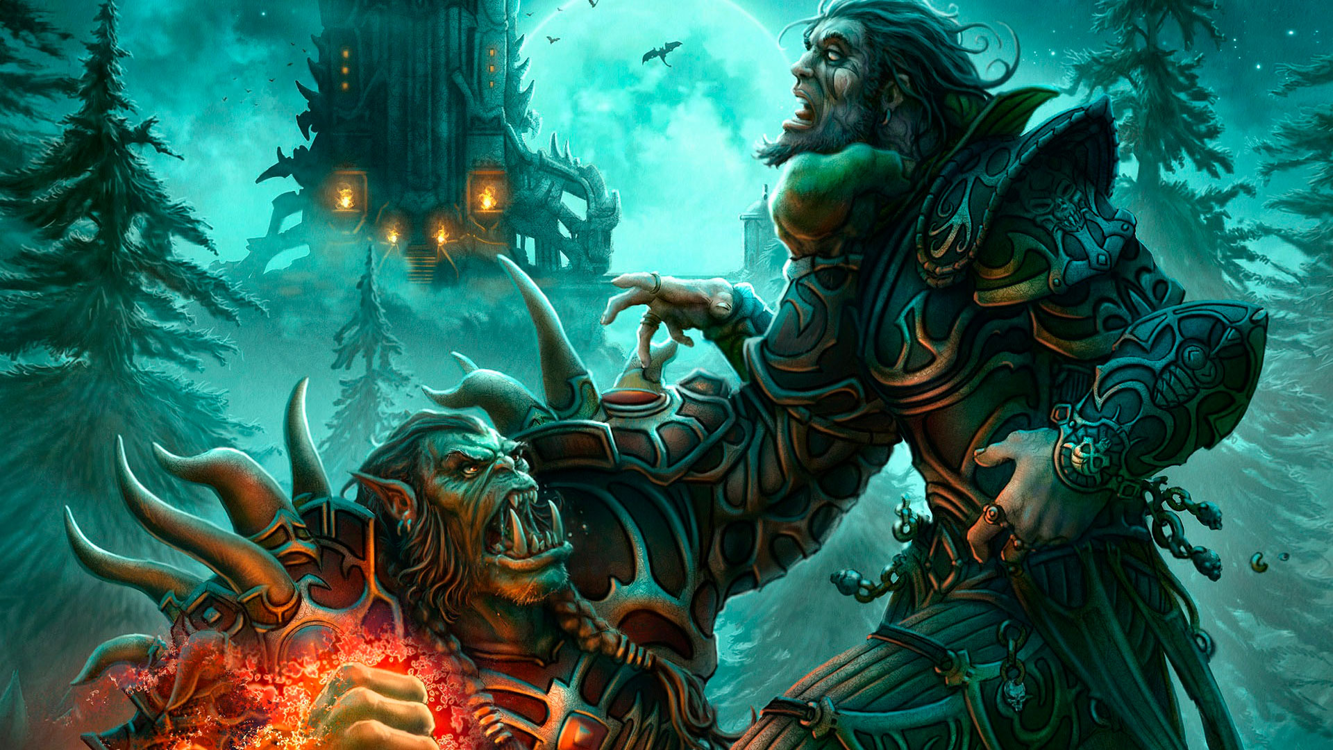 World of Warcraft красивые и крутые обои для рабочего стола 17