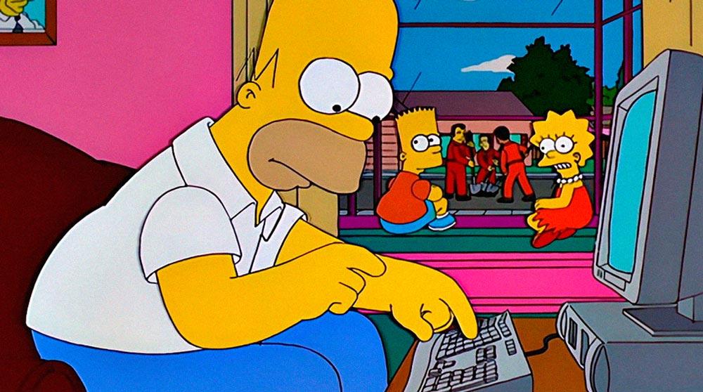 Прикольные картинки Гомера Симпсона - подборка 20 фото 1