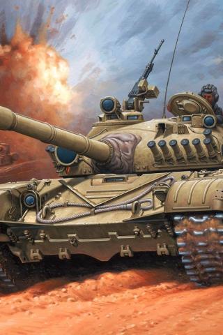 Классные картинки танков на заставку телефона - скачать бесплатно 1