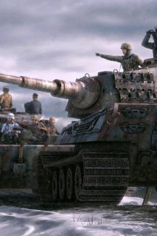 Классные картинки танков на заставку телефона - скачать бесплатно 2