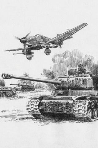 Классные картинки танков на заставку телефона - скачать бесплатно 3
