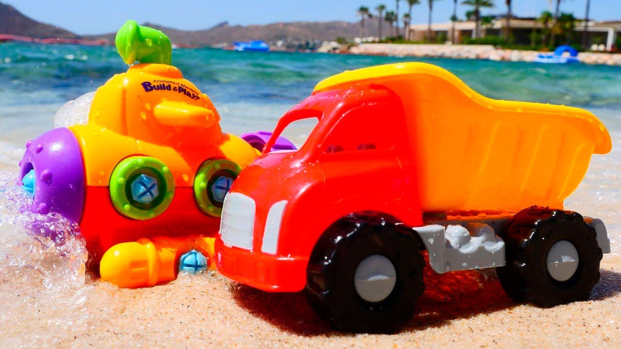 Красивые картинки грузовик для детей - подборка 15 штук 7