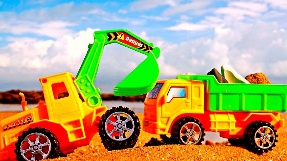 Красивые картинки грузовик для детей - подборка 15 штук 8