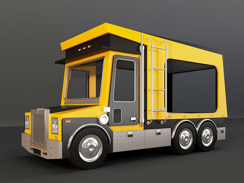 Красивые картинки грузовик для детей - подборка 15 штук 2