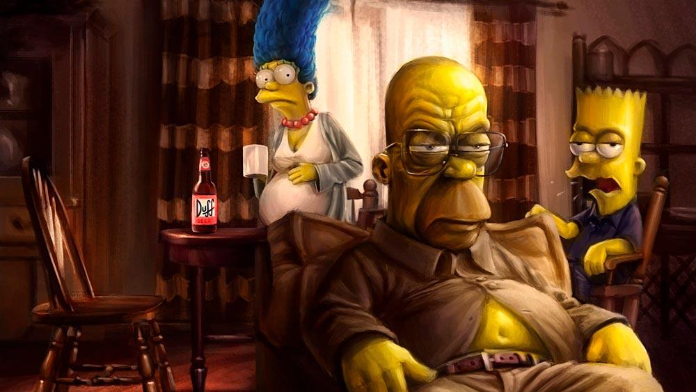 Прикольные картинки Гомера Симпсона - подборка 20 фото 8