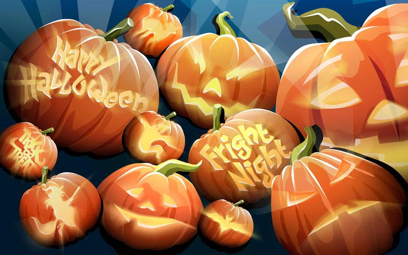 Картинки, открытки поздравления с Хэллоуином - самые прикольные 1