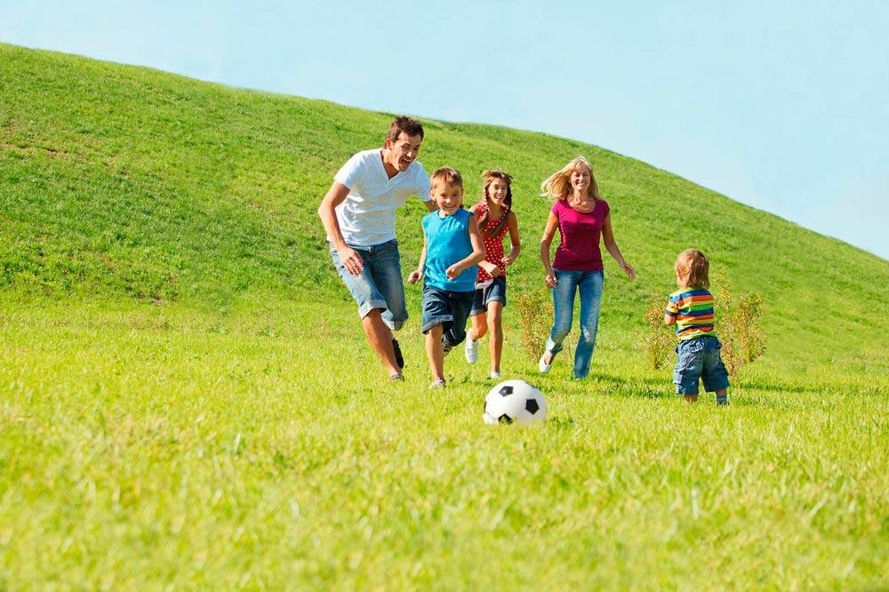 """""""Мама, папа, я - спортивная семья!"""" - красивые картинки 5"""