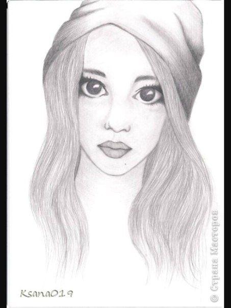 Милые и прикольные картинки для срисовки девочкам 12 лет 1