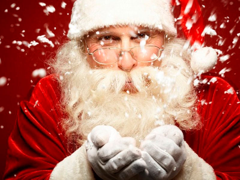 Красивые картинки с Дедом Морозом - подборка 20 штук 1