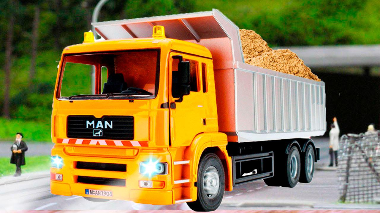 Красивые картинки грузовик для детей - подборка 15 штук 3