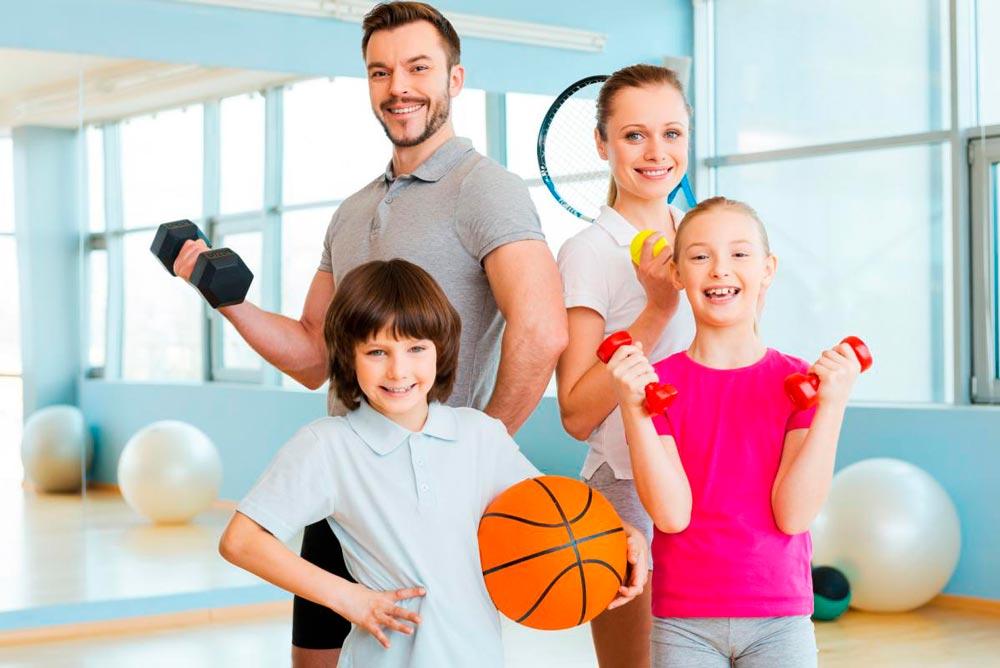 """""""Мама, папа, я - спортивная семья!"""" - красивые картинки 2"""