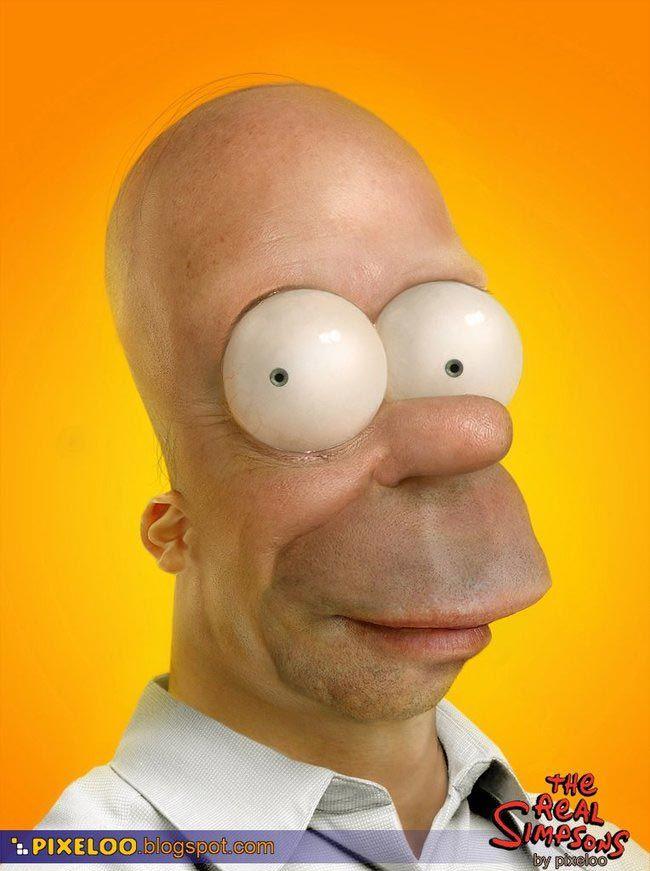 Прикольные картинки Гомера Симпсона - подборка 20 фото 12