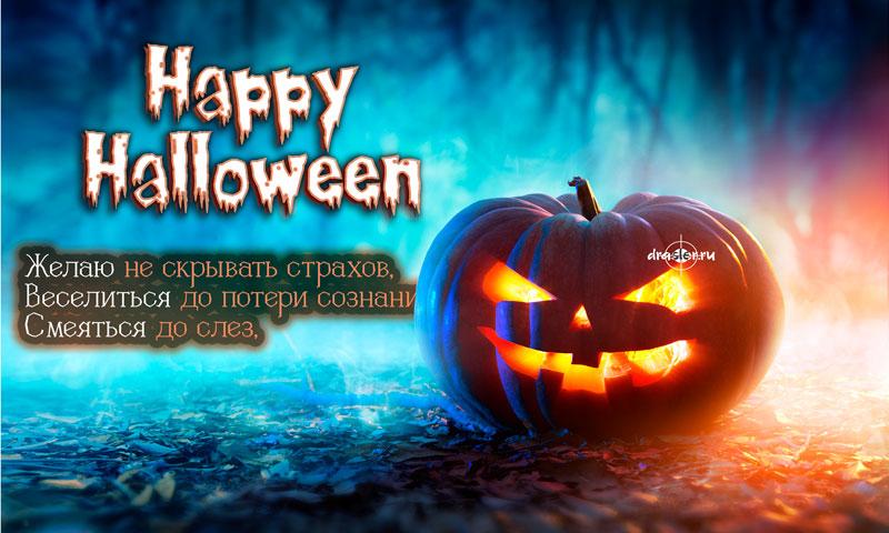Картинки, открытки поздравления с Хэллоуином - самые прикольные 3
