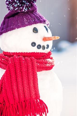 Новогодние картинки зимы 2019 на телефон на заставку 12