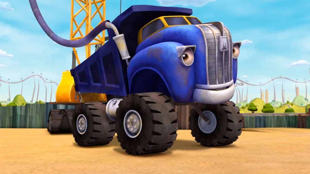 Красивые картинки грузовик для детей - подборка 15 штук 15